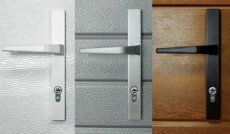 Autotallin oven, sivuoven ja käyntioven vakiolukitus