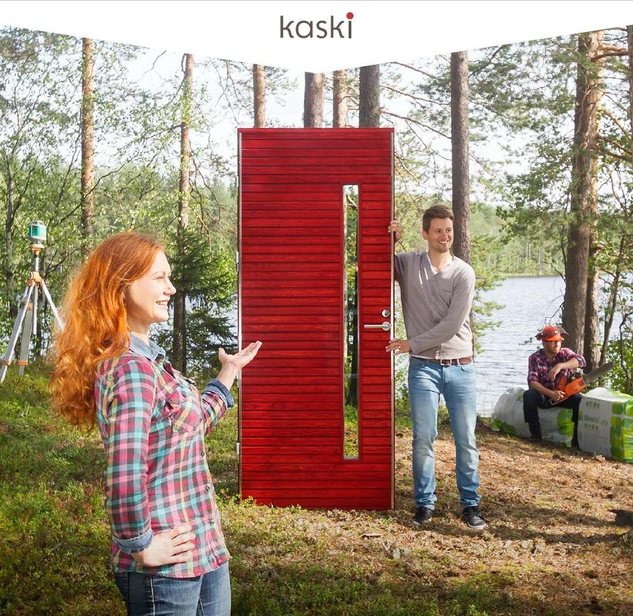 Kotimaiset Kaskipuun ulko-ovet mittatilaustyönä