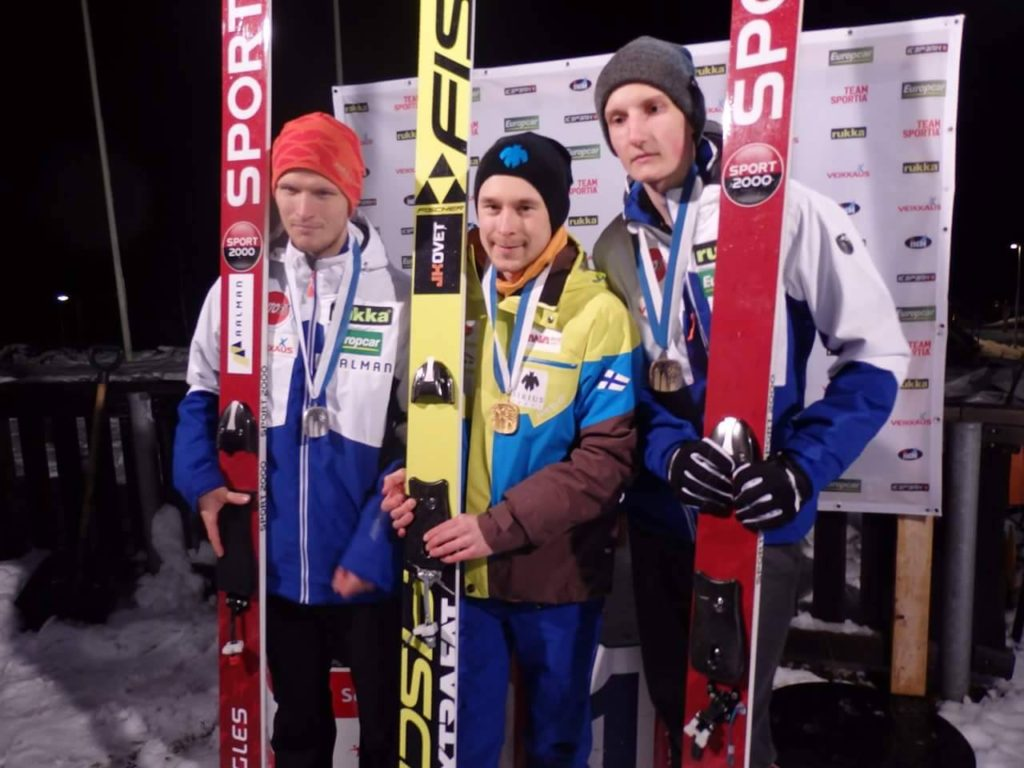 Jarkko Määttä Suomen mestari 2016 rovaniemi Mäkihyppy