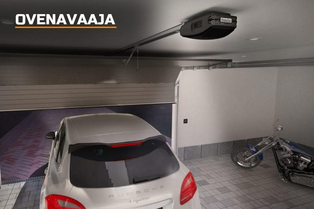 Sähköisellä oven avaajalla varustettu autotallin ovi on tätä päivää. Automatisoitu ovi avautuu helposti nappia painamalla, eikä esimerkiksi autosta tarvitse nousta talliin ajettaessa.