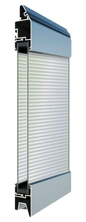 Fullview-ikkunarivi - Pleksilasi -Polykarbonaatti. Suuren valopinnan omaavat ikkunarivit ovat omiaan tuomaan valoa ja avaruutta liike- ja toimitiloihin.