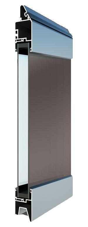 Fullview-ikkunarivi - Tummennettu lasi. Suuren valopinnan omaavat ikkunarivit ovat omiaan tuomaan valoa ja avaruutta liike- ja toimitiloihin.