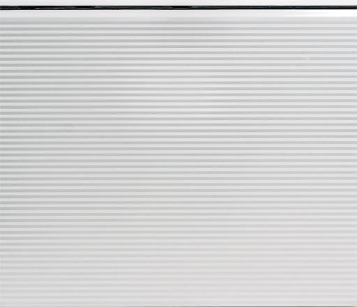 Nosto-oven lamellimalli - Mikroura - Sileä valkoinen RAL9016