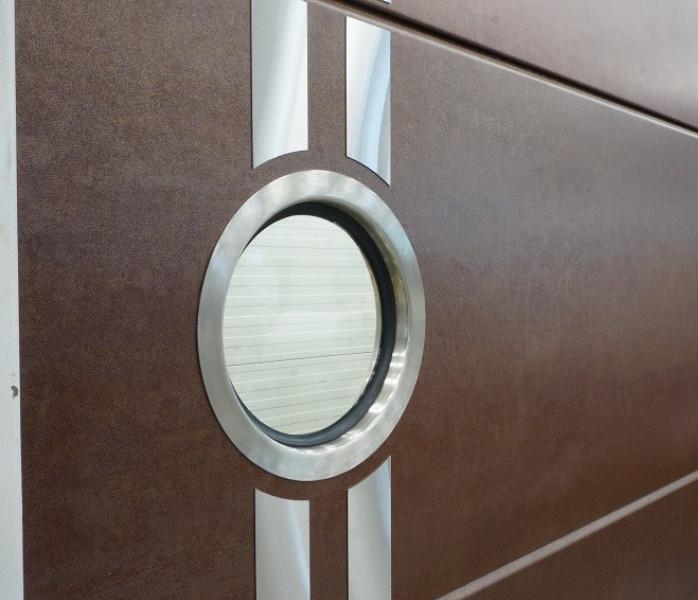 Nosto-oven lamellimalli - Yhtenäinen - Kupari