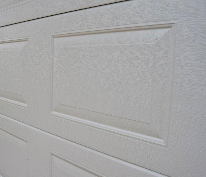 Nosto-oven lamellimalli peilikuvio - Valkoinen RAL 9016