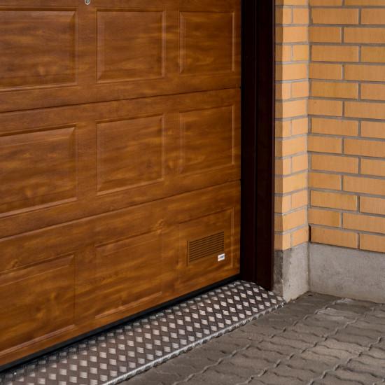 Nosto-ovet puujäljitelmäpinnalla - Peilikuvio - Kultainen tammi