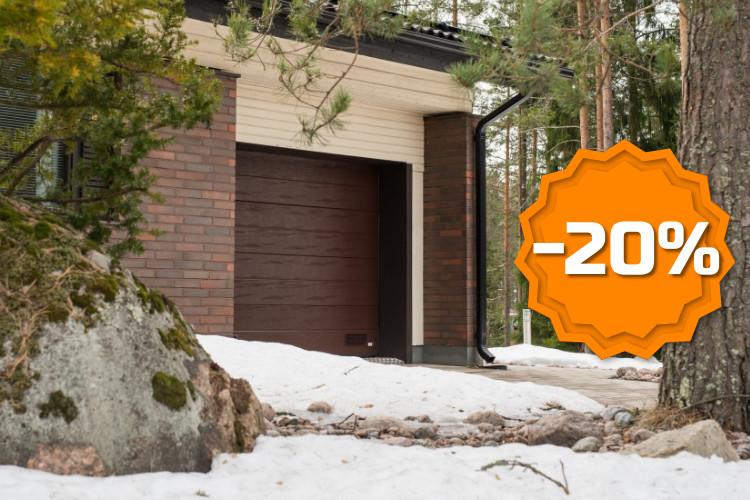Autotallin nosto-ovet -20% - Talviale 2019