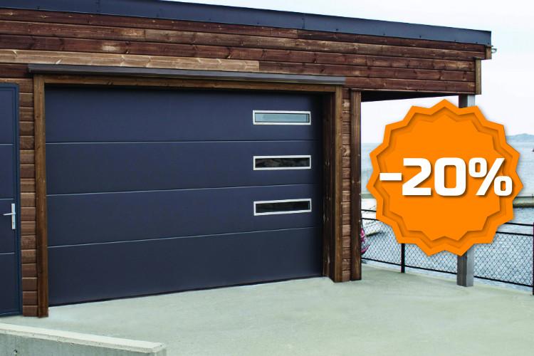 Autotallin ovien design-ratkaisut -20% - Talviale 2019