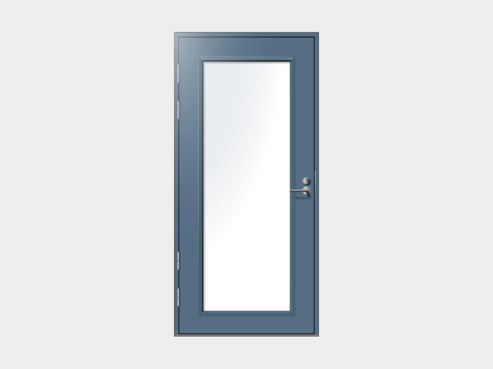 Huhti-mallimme on suunniteltu talon toiseksi sisäänkäynniksi takaterasseille ja parvekkeille. Melkein rajattomasti muunneltavissa oleva lasiaukon korkeus auttaa istuttamaan Huhti-oven seinään kuin seinään. Meiltä saat kätevästi myös Huhti- ulko-oviin sälekaihtimet valmiiksi käyttökuntoon asennettuna.